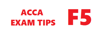 ACCA F5 Exam Tips March 2018