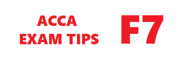 ACCA F7 Exam Tips March 2016