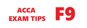 ACCA F9 Exam Tips September 2017