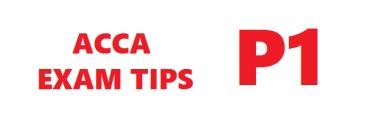ACCA P1 Exam Tips December 2015