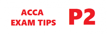 ACCA P2 Exam Tips September 2017