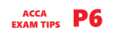 ACCA P6 Exam Tips June 2016 Session
