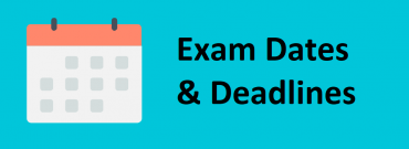 ACCA September 2017 Exam Dates and Deadlines