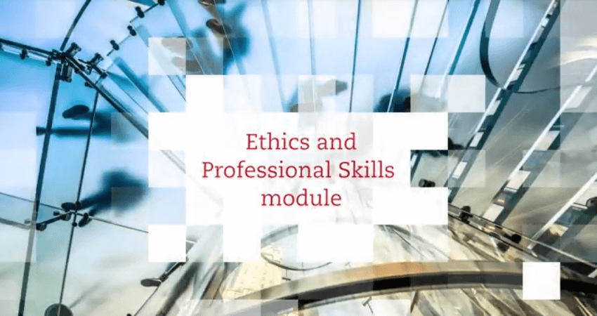acca professional ethics module If you're studying for the acca, you know that you've got to complete the  professional ethics module before qualifying what you might not know is that  you.