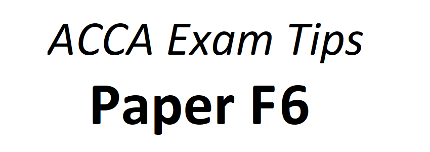 ACCA Tips for ACCA Paper F9 Financial Management
