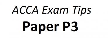 ACCA P3 Exam Tips June 2018