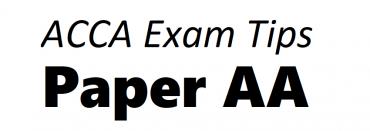 ACCA AA Exam Tips June 2019