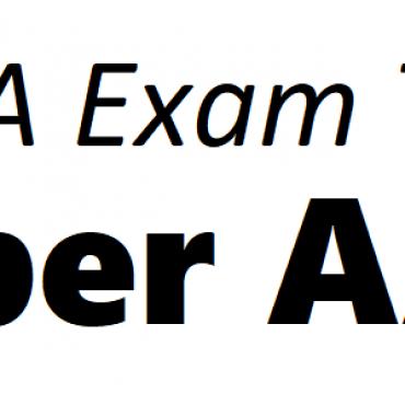 ACCA AAA Exam Tips June 2019