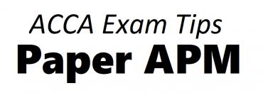 ACCA APM Exam Tips December 2018