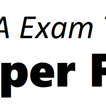 ACCA FR Exam Tips June 2019