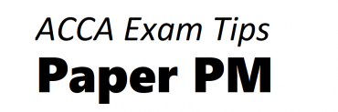 ACCA PM Exam Tips September 2018