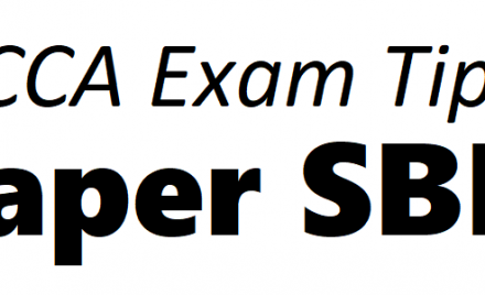 ACCA SBR Exam Tips September 2018 – ACCAExamTips net